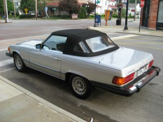 1982 Mercedes - Benz 380sl Base Convertible 2 - Door 3.  8l photo