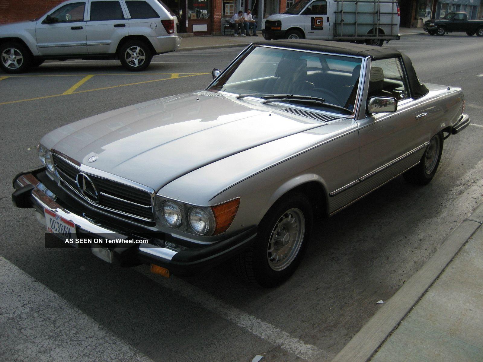 1982 mercedes benz 380sl base convertible 2 door 3 8l for 380sl mercedes benz