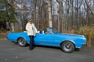 1967 Convertible 330 Cutlass Supreme photo
