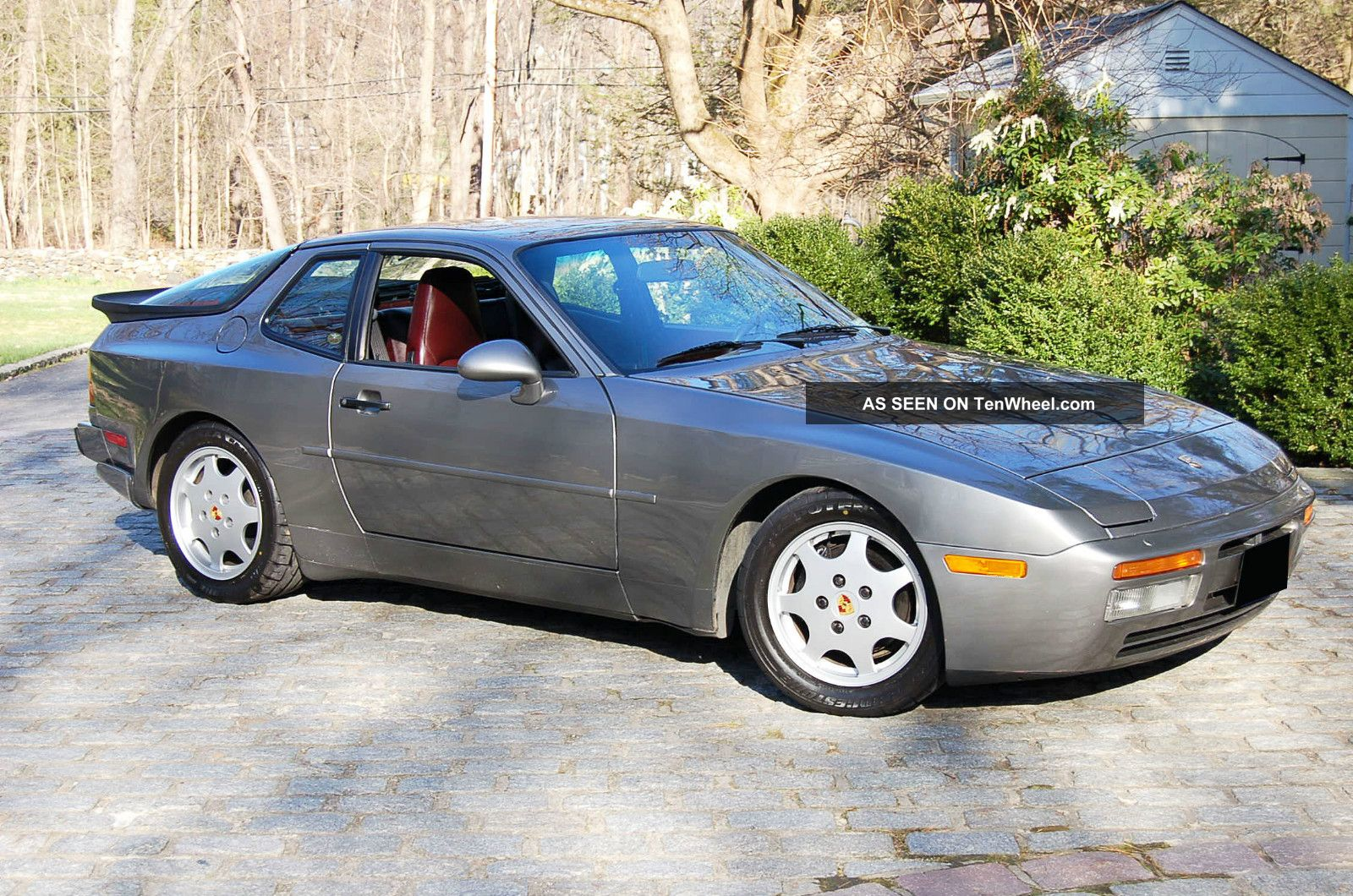 1987 porsche 944 new wheels getting close to being done. Black Bedroom Furniture Sets. Home Design Ideas