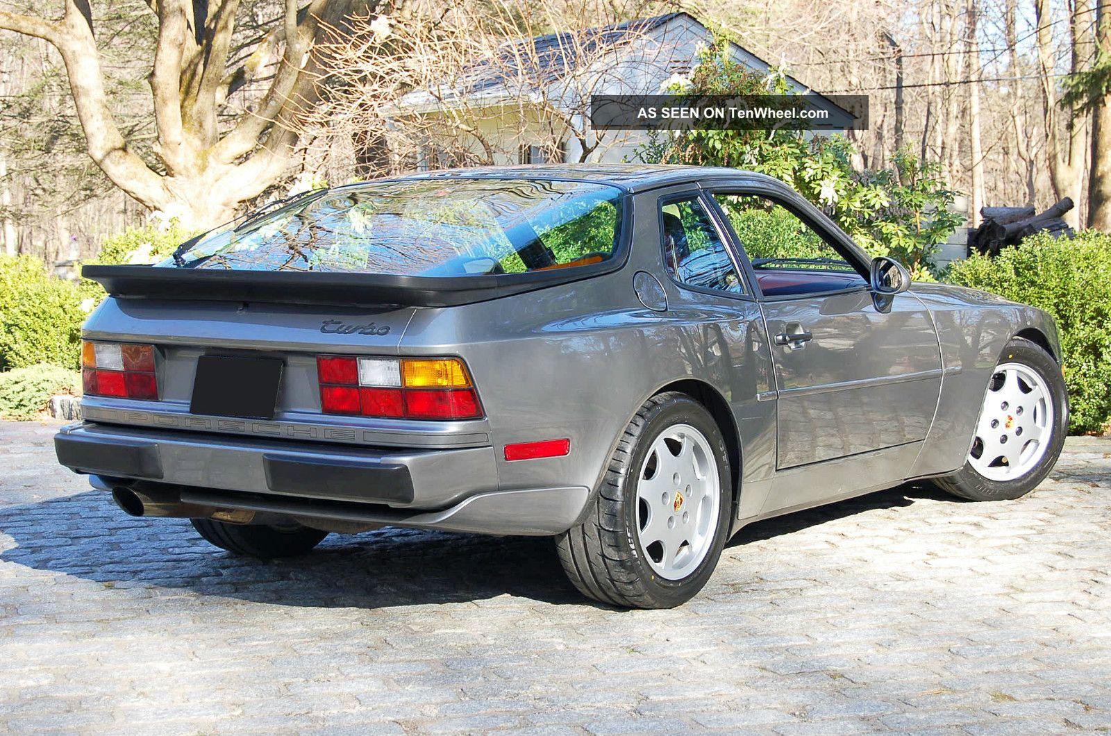 1987 porsche 944 turbo coupe. Black Bedroom Furniture Sets. Home Design Ideas