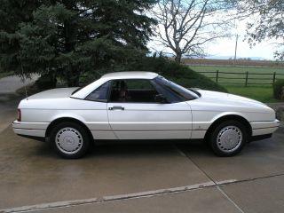 1989 Cadillac Allante photo