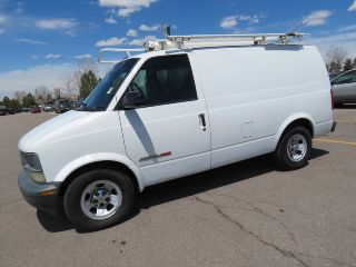 2001 Chevrolet Astro Cargo Van Awd V6 Prev.  Comcast Fleet 4.  3 photo