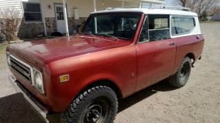 1979 International Scout Ii Traveler Sport Utility 2 - Door 5.  6l photo