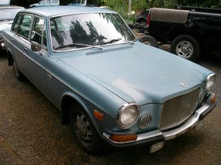 1972 Volvo 164e,  4 Speed Overdrive.  Solid Driver. .  B30e,  160hp photo