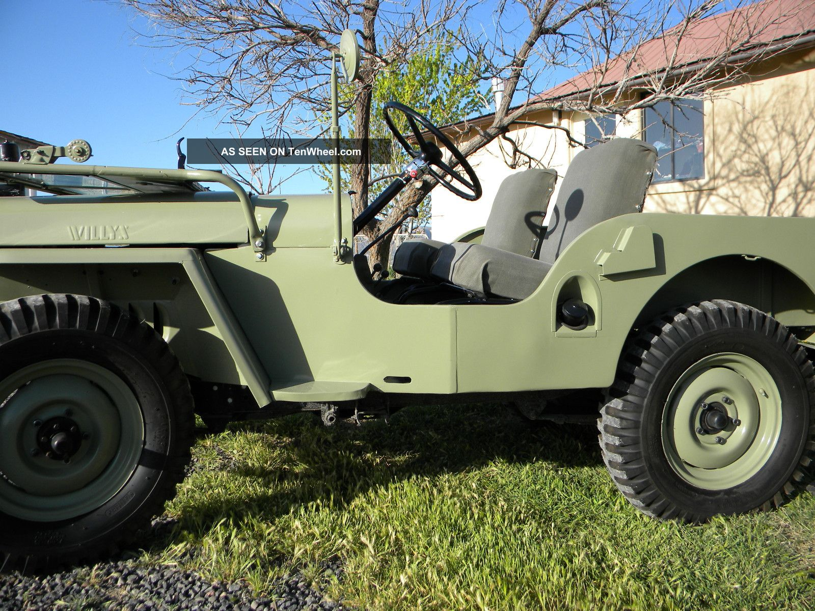 1948 Willys Jeep Cj 2a Full Frame Off