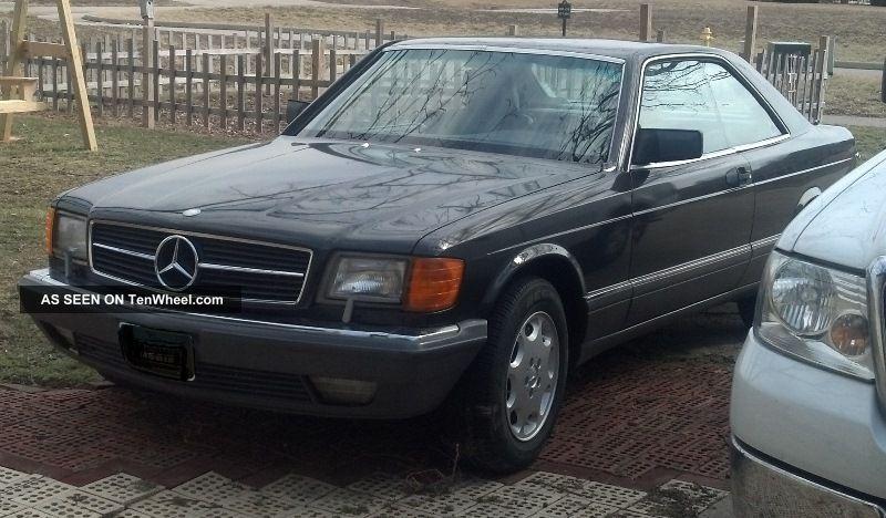 1990 mercedes benz 560sec 560 sec for Mercedes benz 560 sec