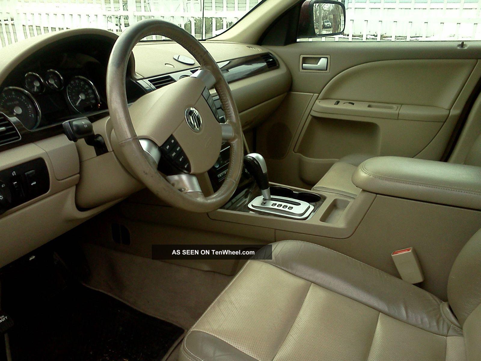 2006 Mercury Montego Luxury Sedan 4