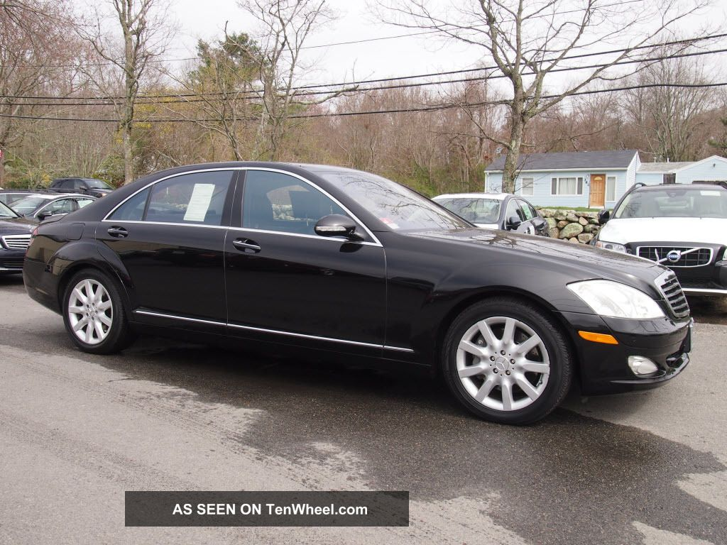 2007 mercedes benz s550 4matic awd sedan for Mercedes benz 4matic review