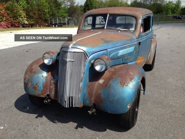 1937 Chevrolet Gasser - - Was The Scourge Of Winston Salem ...