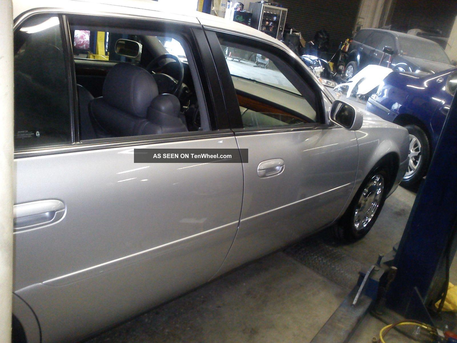 2002 Cadillac Deville Dts Sedan 4 Door 4 6l