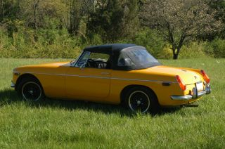 1972 Mg Mgb Base 1.  8l photo
