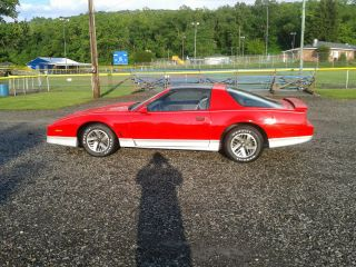 1986 Pontiac Trans Am 5.  0 Fuel Injected Automatic Transmission T Top Car photo