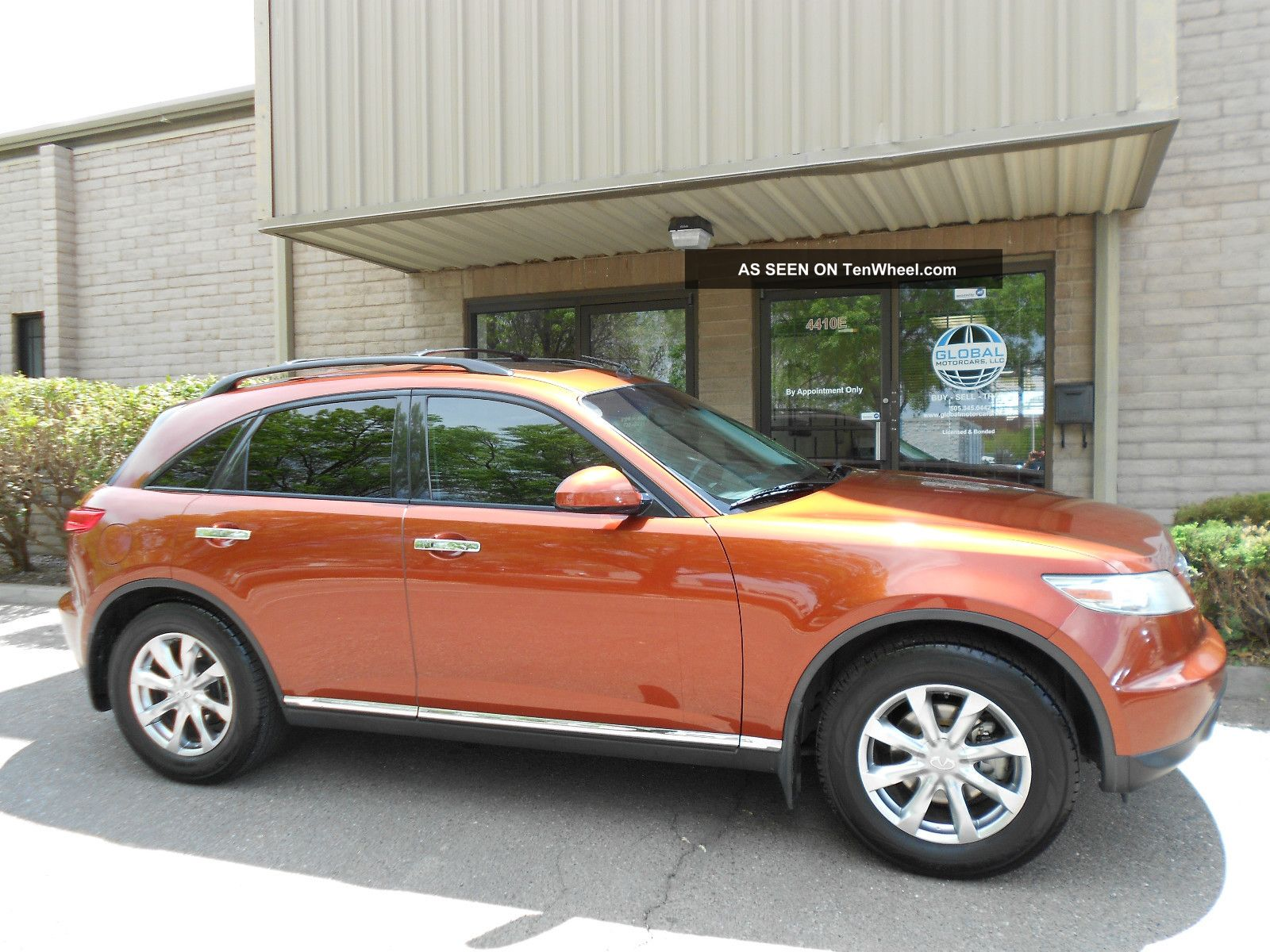 2007 Infiniti Fx35 Sport Utility 4 - Door 3.  5l Awd FX photo