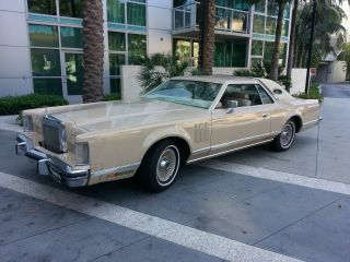 1979 Lincoln Continental Mark V,  Cartier photo