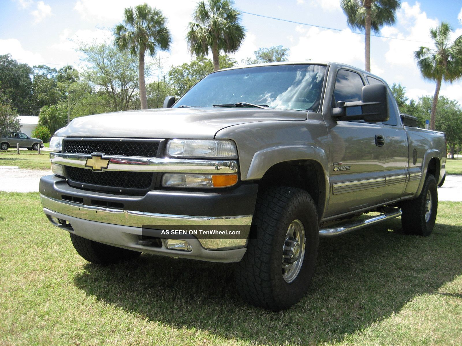 2002 Silverado Diesel Duramax Extra Cab Lifted On 35 S