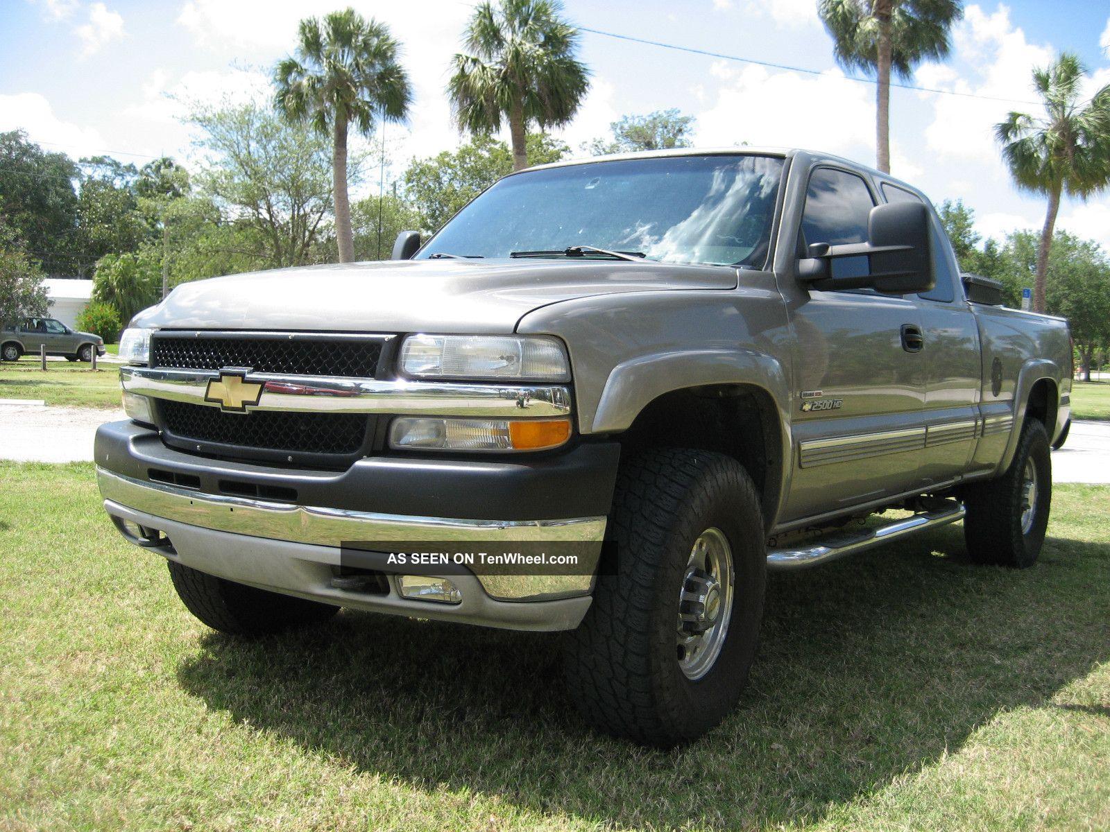 2002 Silverado Diesel Duramax Extra Cab - Lifted On 35 ' S Silverado 2500 photo