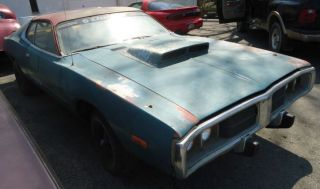 1973 Dodge Charger With 440 Engine photo