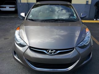 2012 Hyundai Elantra Gls Desert Bronze In Immaculate Condition - photo