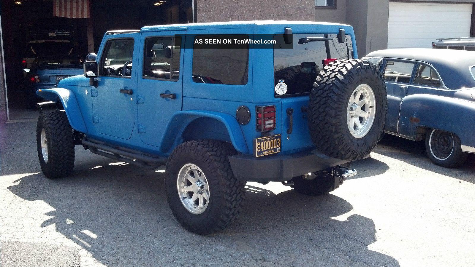2012 jeep wrangler unlimited 4 door 3 6l kevlar finish by starwood. Black Bedroom Furniture Sets. Home Design Ideas