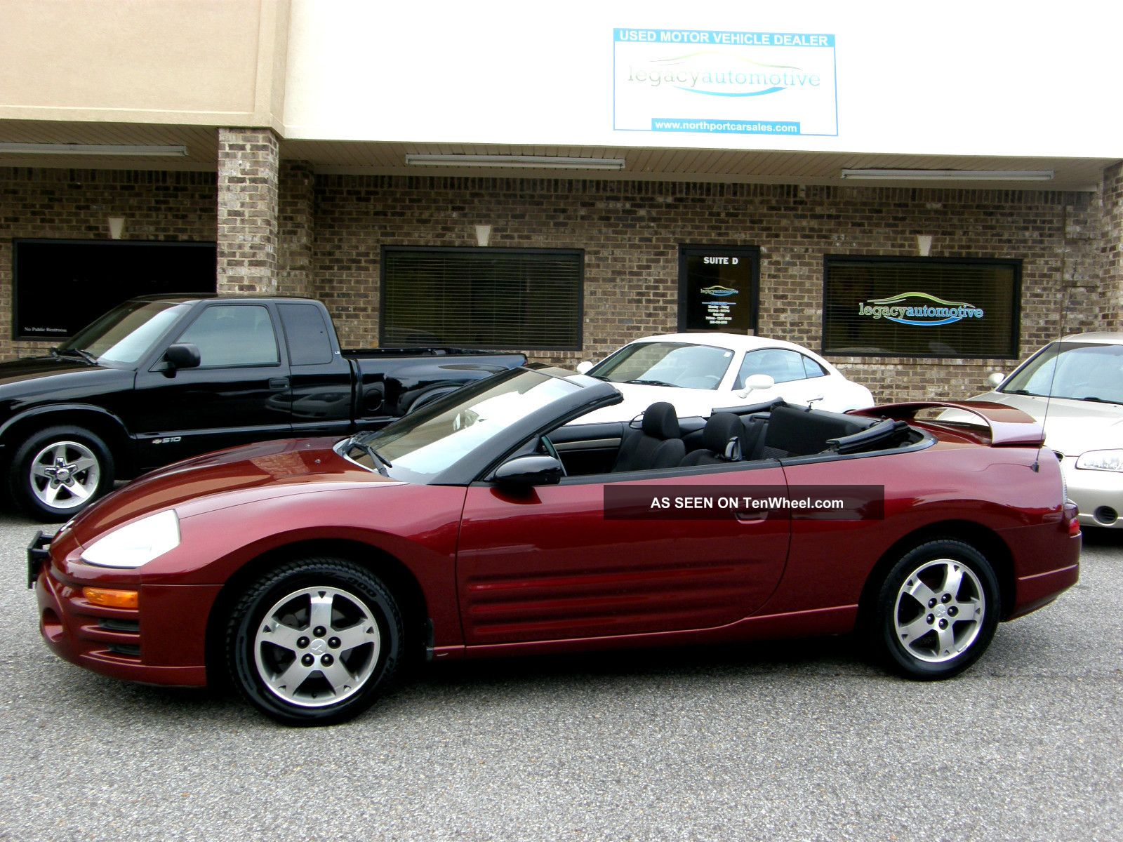 2003 Mitsubishi Eclipse Spyder Gs Convertible 2 Door 2 4l
