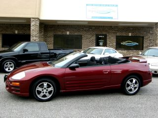 2003 Mitsubishi Eclipse Spyder Gs Convertible 2 - Door 2.  4l photo