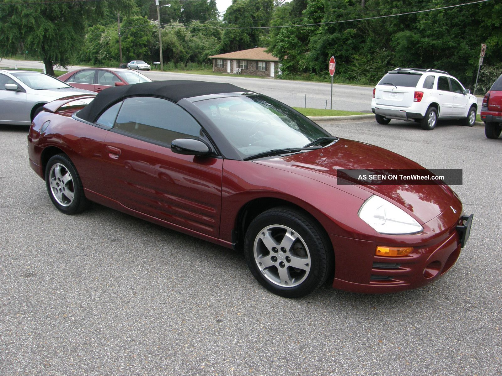 2003 mitsubishi eclipse spyder gs convertible 2 door 2 4l. Black Bedroom Furniture Sets. Home Design Ideas