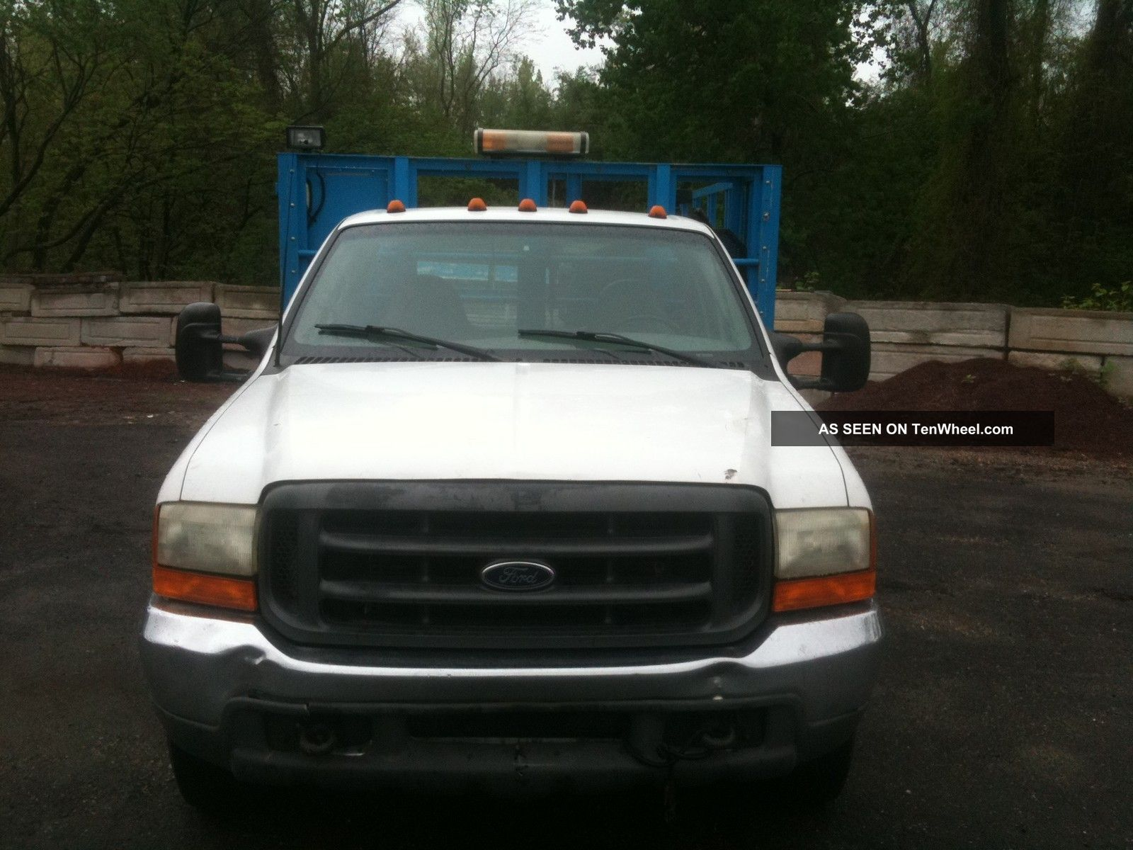 Ford F Tire Truck Diesel V Duty Tire Truck With Compressor Lgw on Dodge Dooley