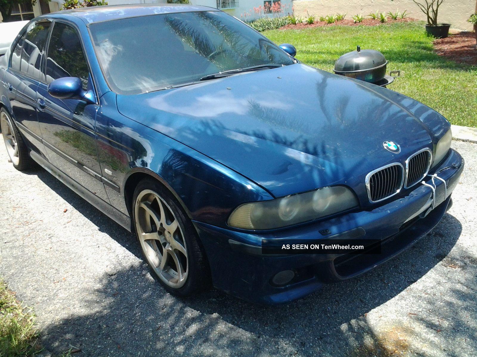 2000 Bmw M5 Sedan Blue M5 photo