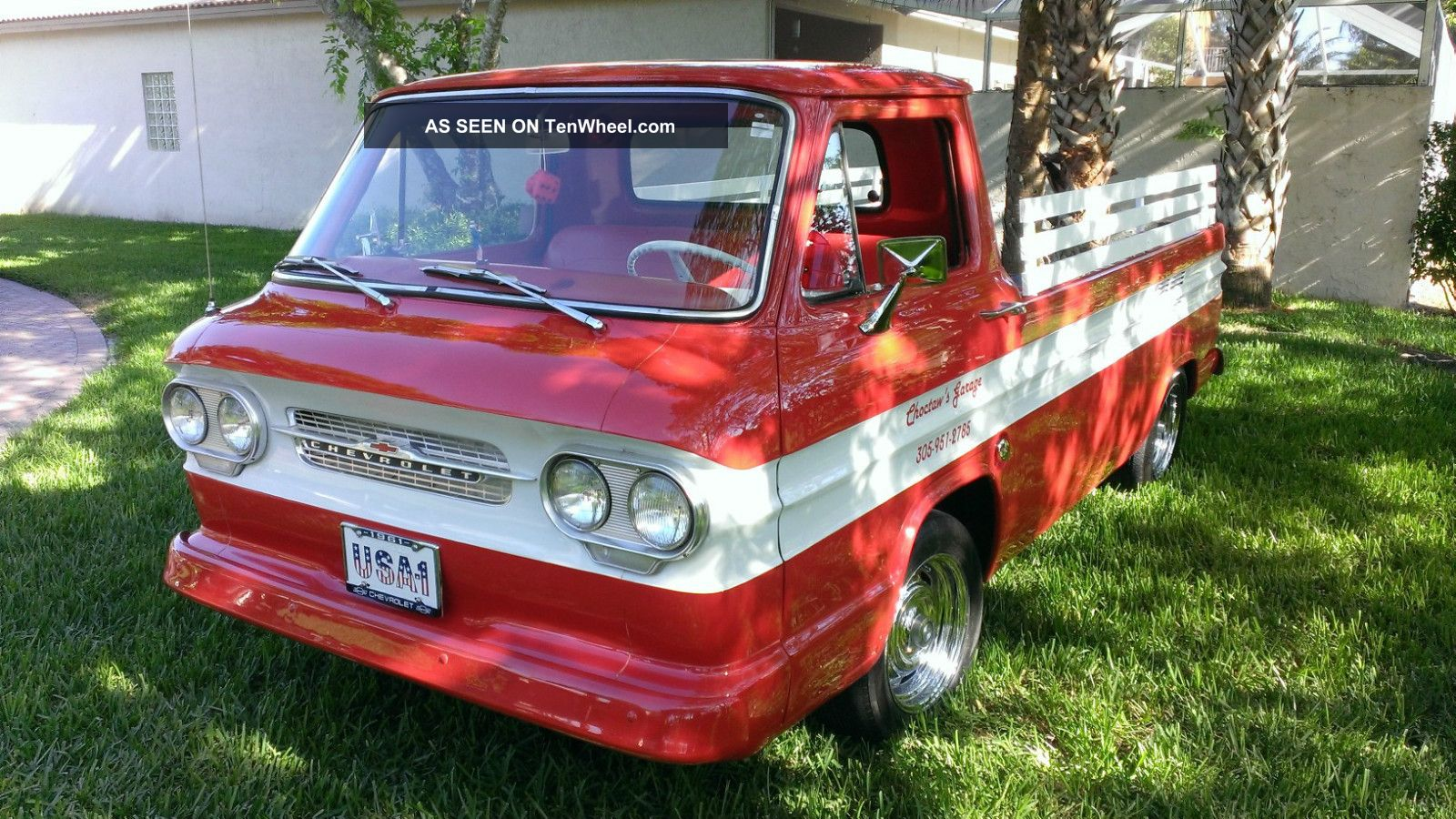 1961 Corvair Loadside - Pickup - Restoration Done - Drive Or Show Her You Choose Corvair photo