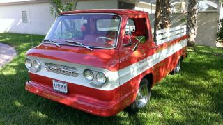 1961 Corvair Loadside - Pickup - Restoration Done - Drive Or Show Her You Choose photo