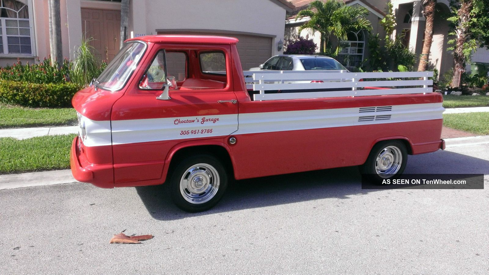 1961 Corvair Loadside Pickup Restoration Done Drive