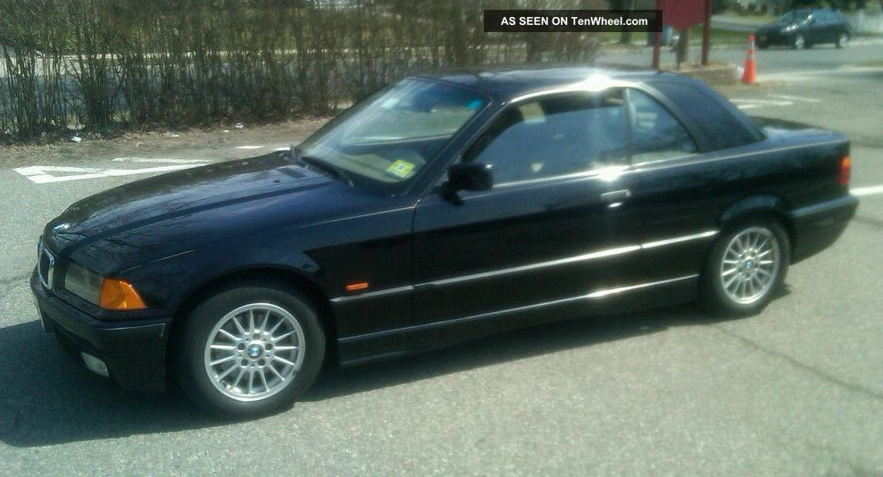 Bmw I Convertible Speed With Matching Factory Hardtop - 1997 bmw 328i convertible