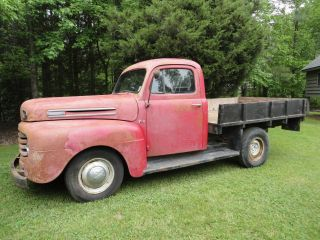 1949 Ford F - 1 Truck,  Solid photo
