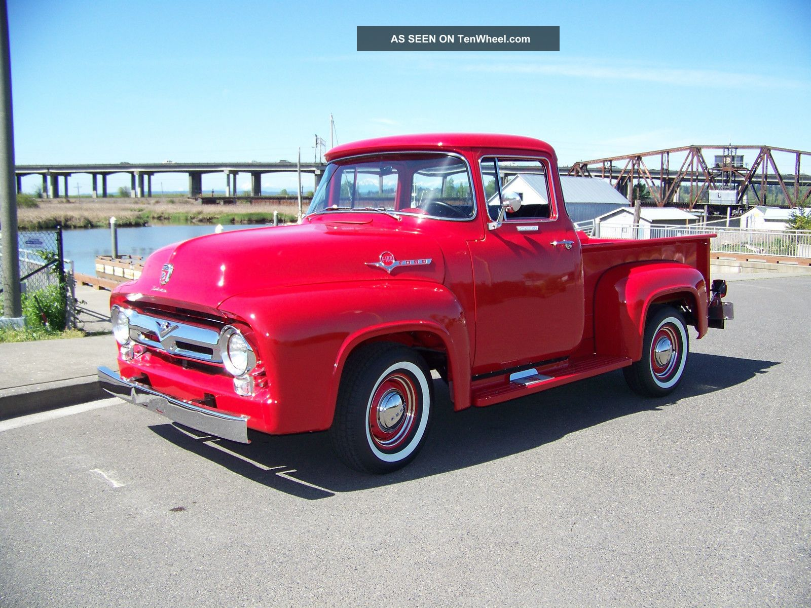 1956 ford f100 big window for 1956 ford big window