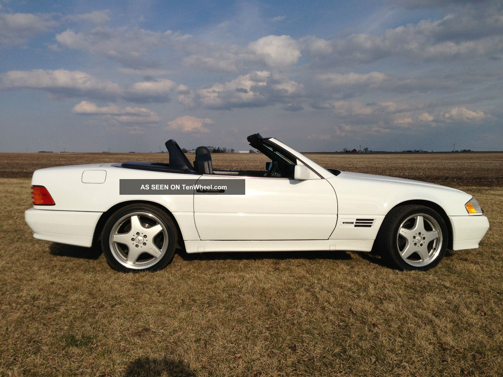 Rare 1992 Mercedes 500sl Sport Edition - 500sl Sportline Pkg - Exc.  Condition SL-Class photo