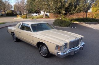 1979 Chrysler Cordoba Barn Find photo