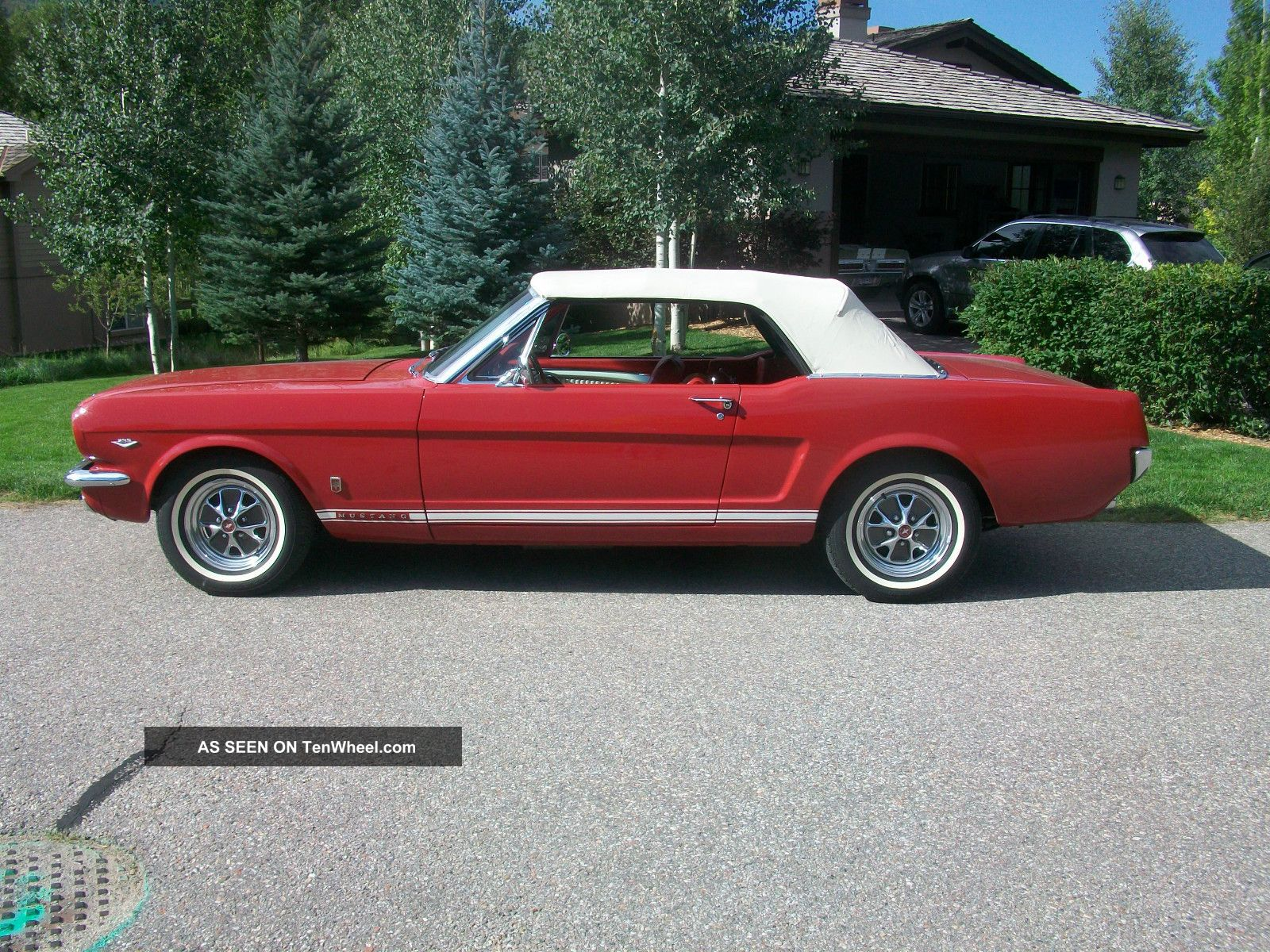 1965 Ford Mustang ' A ' Code Convertible Mustang photo