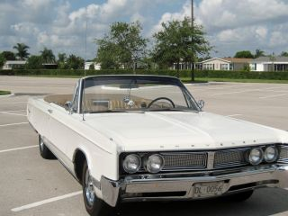 1967 Chrysler Newport Convertible. . .  Completely Florida Car photo