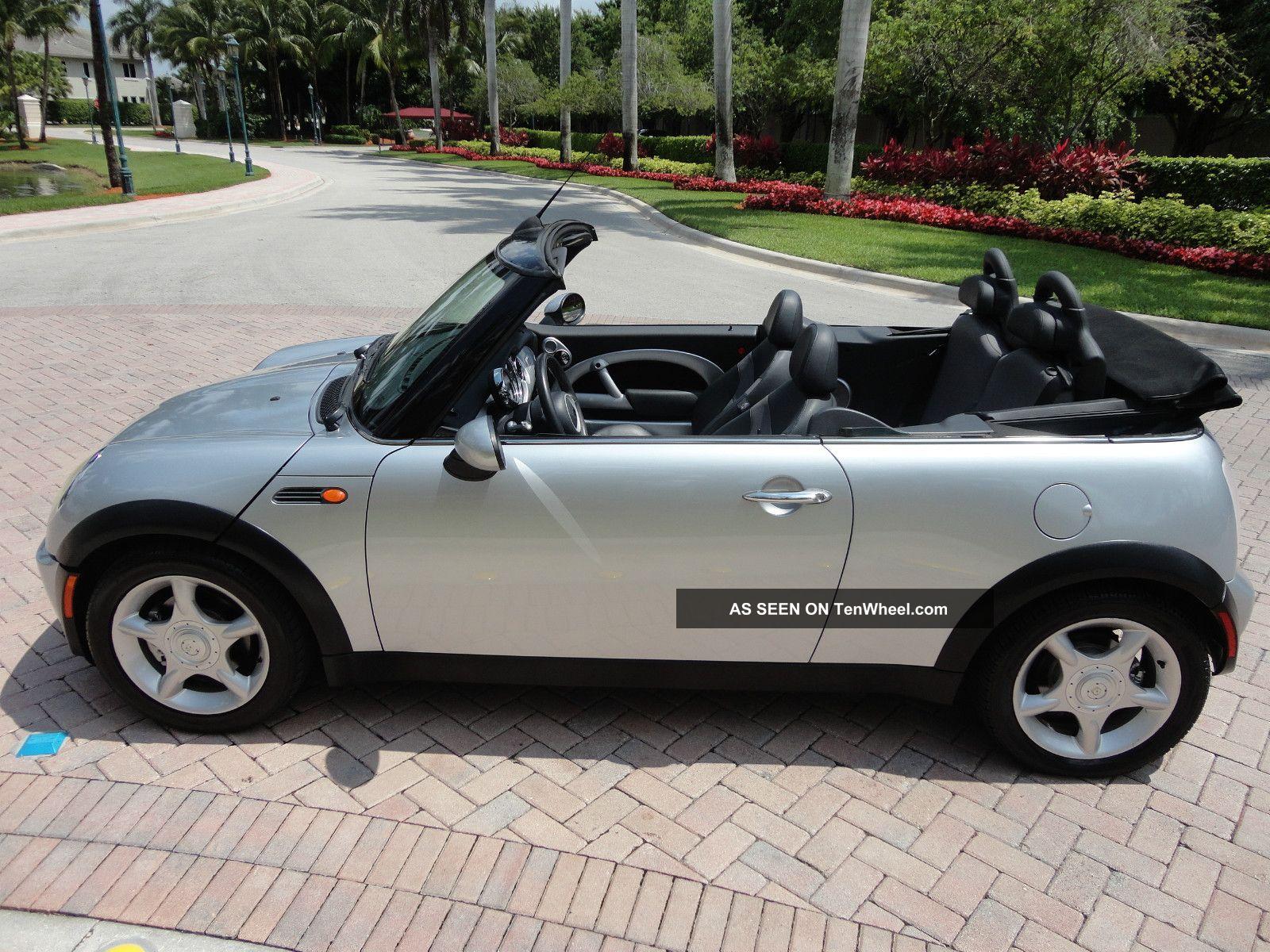 2005 mini cooper convertible automatic seats parktronic. Black Bedroom Furniture Sets. Home Design Ideas