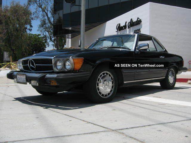 1980 Mercedes Benz 450sl Coupe Convertible SL-Class photo