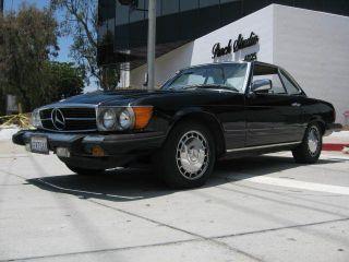 1980 Mercedes Benz 450sl Coupe Convertible photo