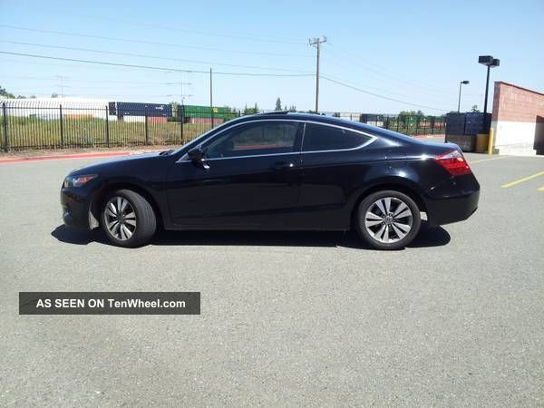 2008 Honda Accord Ex - L Coupe 2 - Door 2.  4l Accord photo