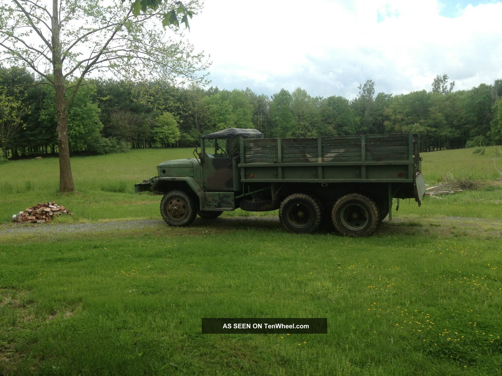 1970 M35a2 Kaiser 2  5 With Winch