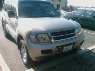 2002 Mitsubishi Montero Xls Sport Utility 4 - Door 3.  5l - photo