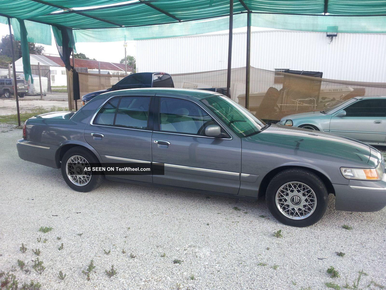 1998 Mercury Grand Marquis Gs Sedan 4 - Door 4.  6l Grand Marquis photo