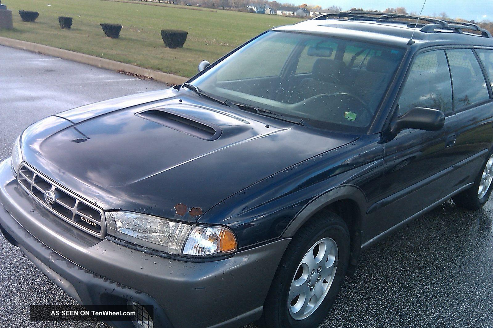1999 Subaru Legacy Outback Wagon 4 Door 2 0 Turbo Not Running