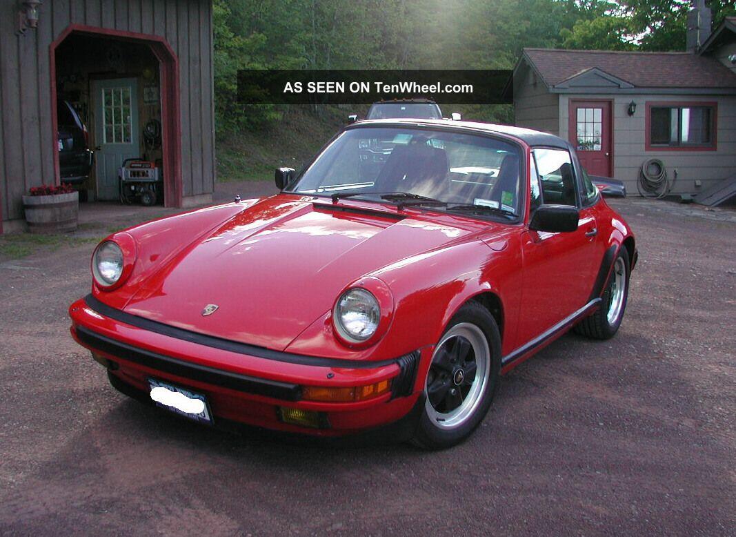 1986 porsche 911 carrera targa 2 door 3 2l. Black Bedroom Furniture Sets. Home Design Ideas