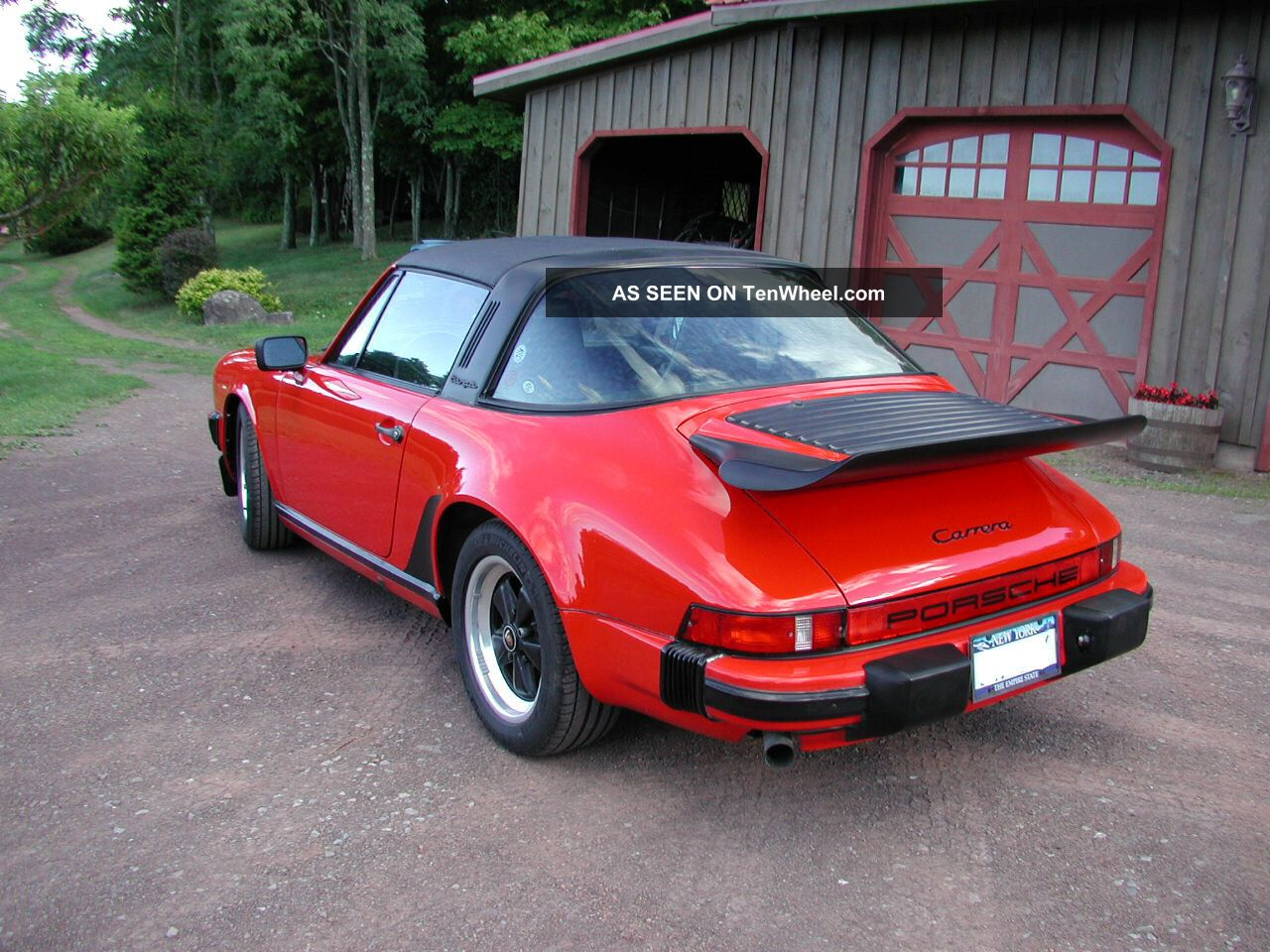1986 porsche 911 carrera targa 2 door 3 2l. Black Bedroom Furniture Sets. Home Design Ideas