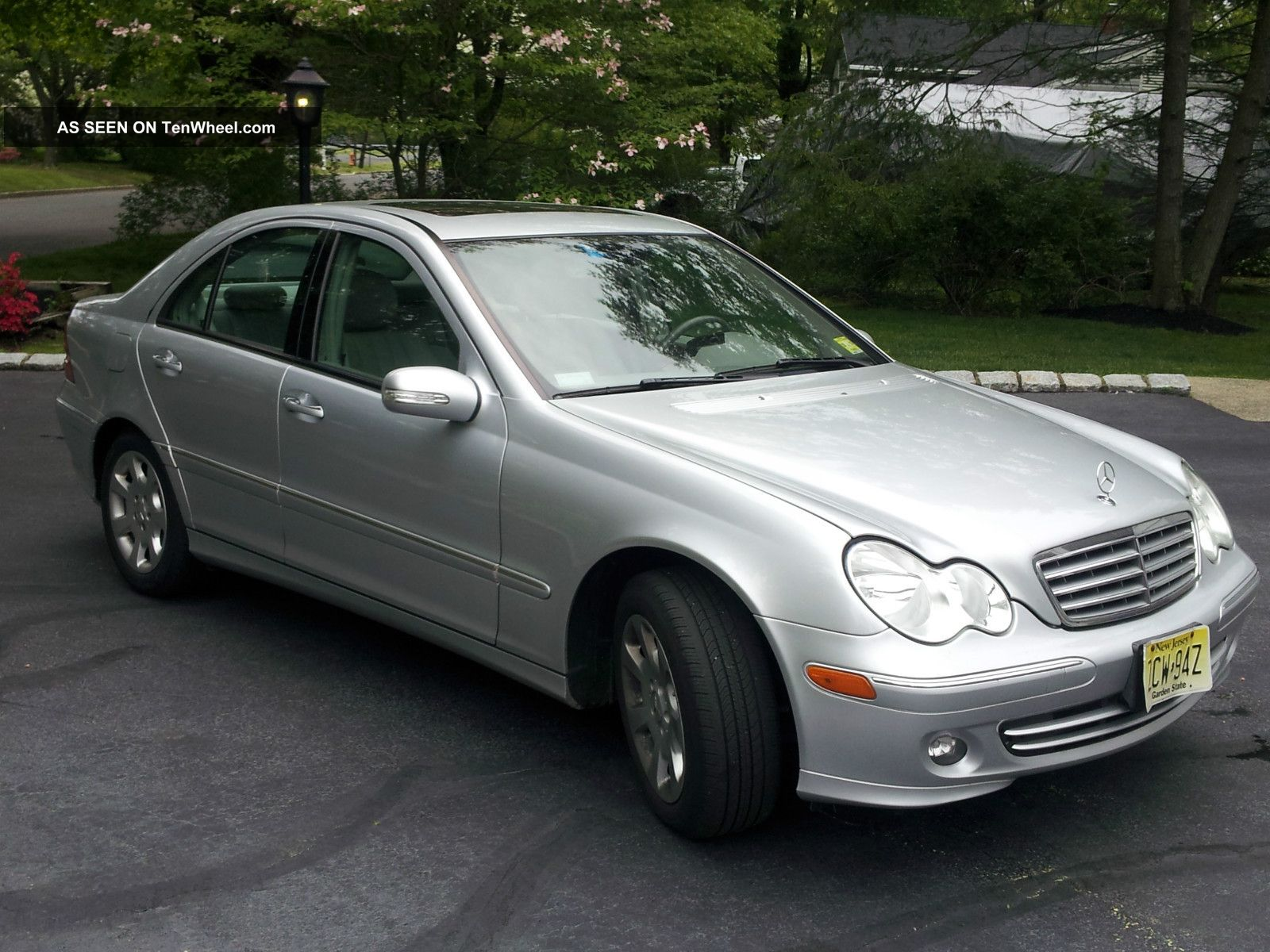 2006 mercedes benz 280c silver w light grey interior